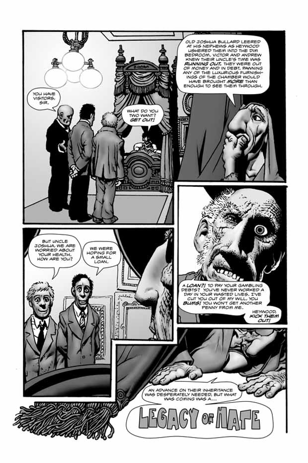 Richard Corben - Shadows on the grave #7 p1
