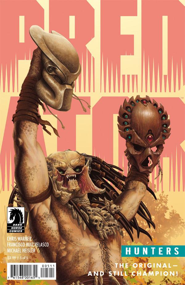 Doug Wheatley - Predator Hunters #5 cover