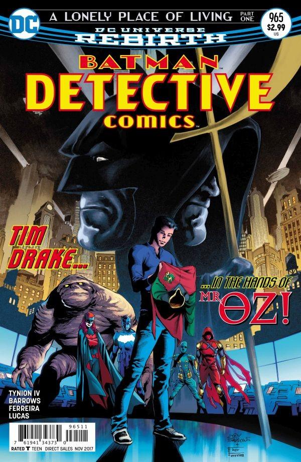 Eddy Barrows - Detective Comics 965 cover