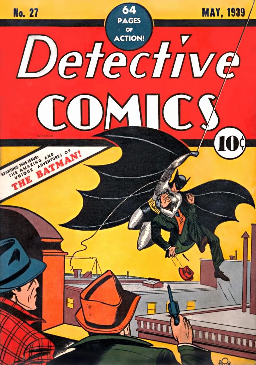 Bob Kane - Detective Comics #27 cover