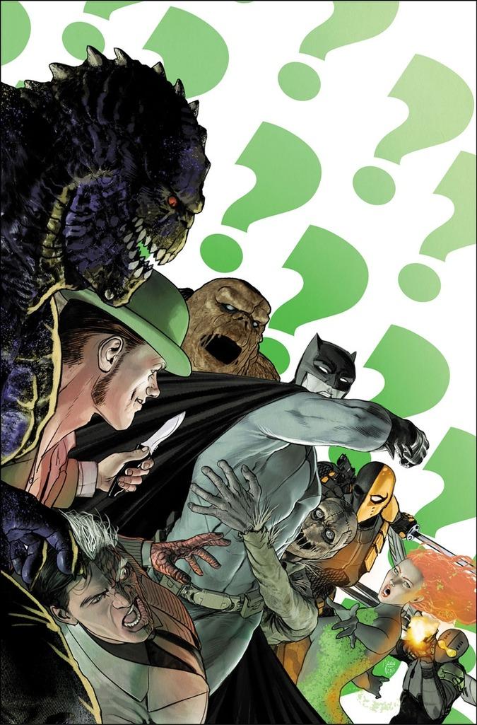 Mikel Janin - Batman #30 cover