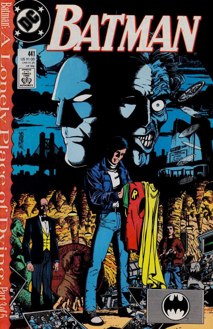 George Perez - Batman #441 cover