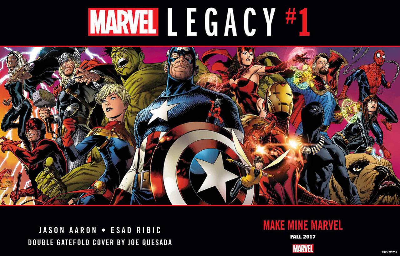 Joe Quesada - Marvel Legacy