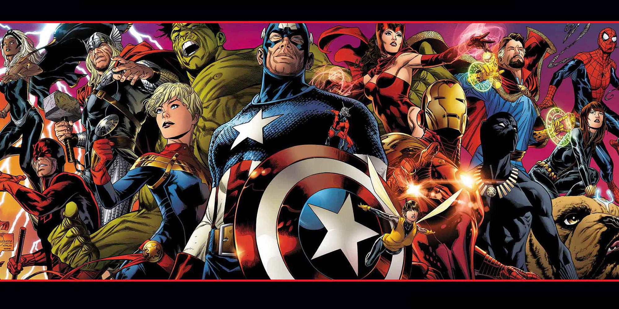 Joe Quesada - Marvel Legacy cover