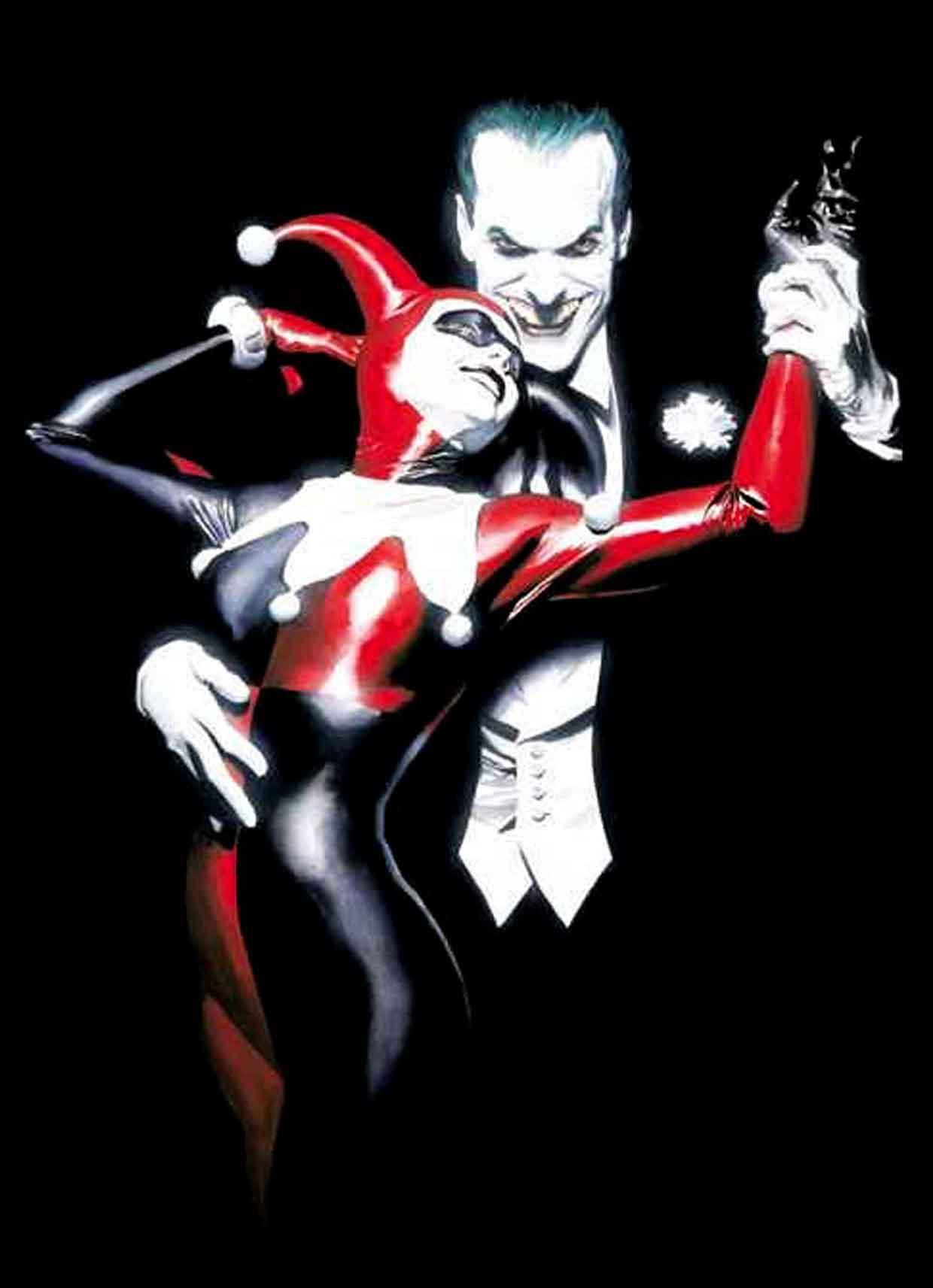 Alex Ross - Batman : Harley Quinn cover