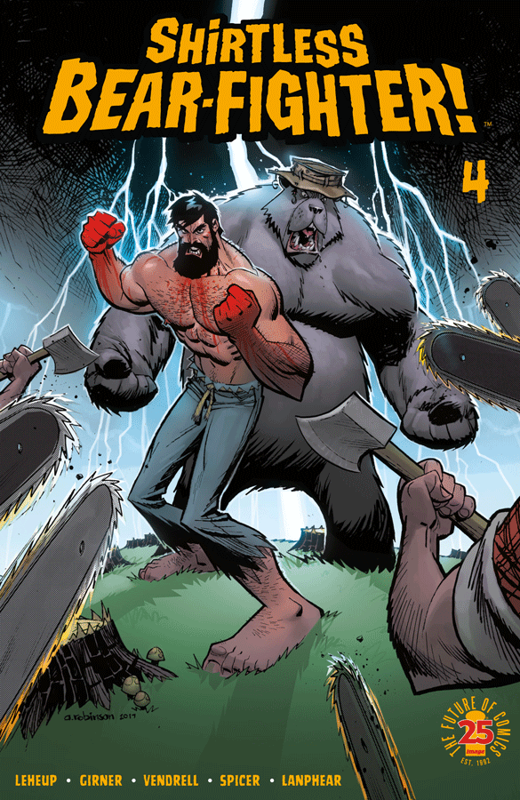 Couverture Shirtless Bear Fighter #4