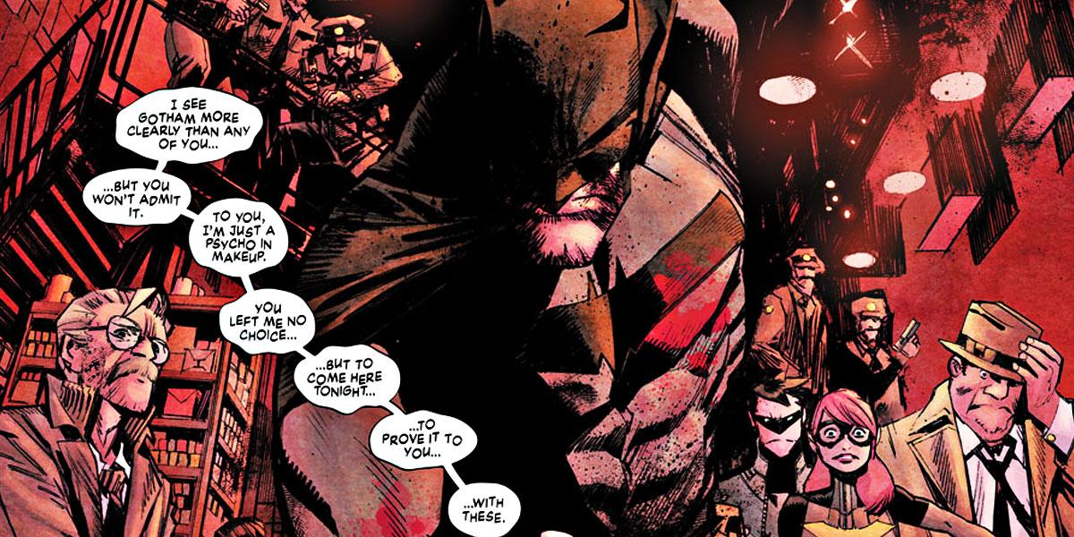 Batman White Knight aperçu 1er page, Sean Murphy