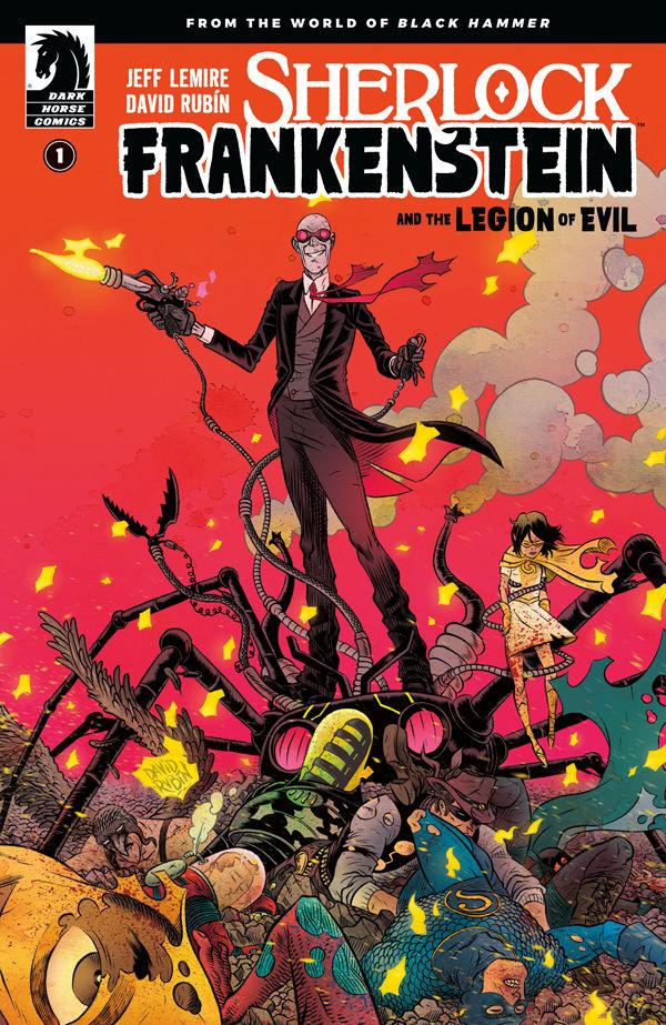 David Rubin - Sherlock Frankenstein and the Legion of Evil #1 cover