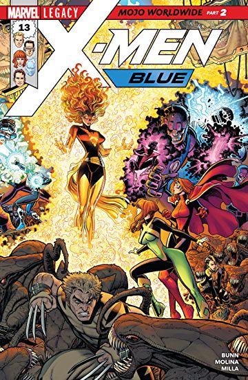 Arthur Adams - X-Men Blue #13 cover