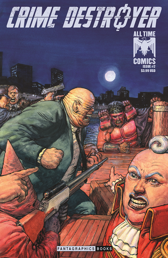 Crime Destroyers #2 cover