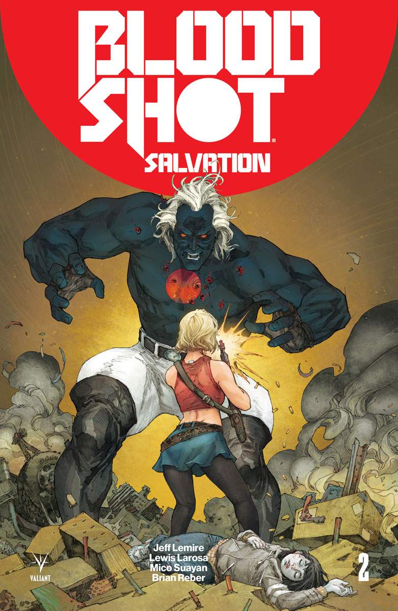 Kenneth Rocafort - Bloodshot Salvation #2 cover