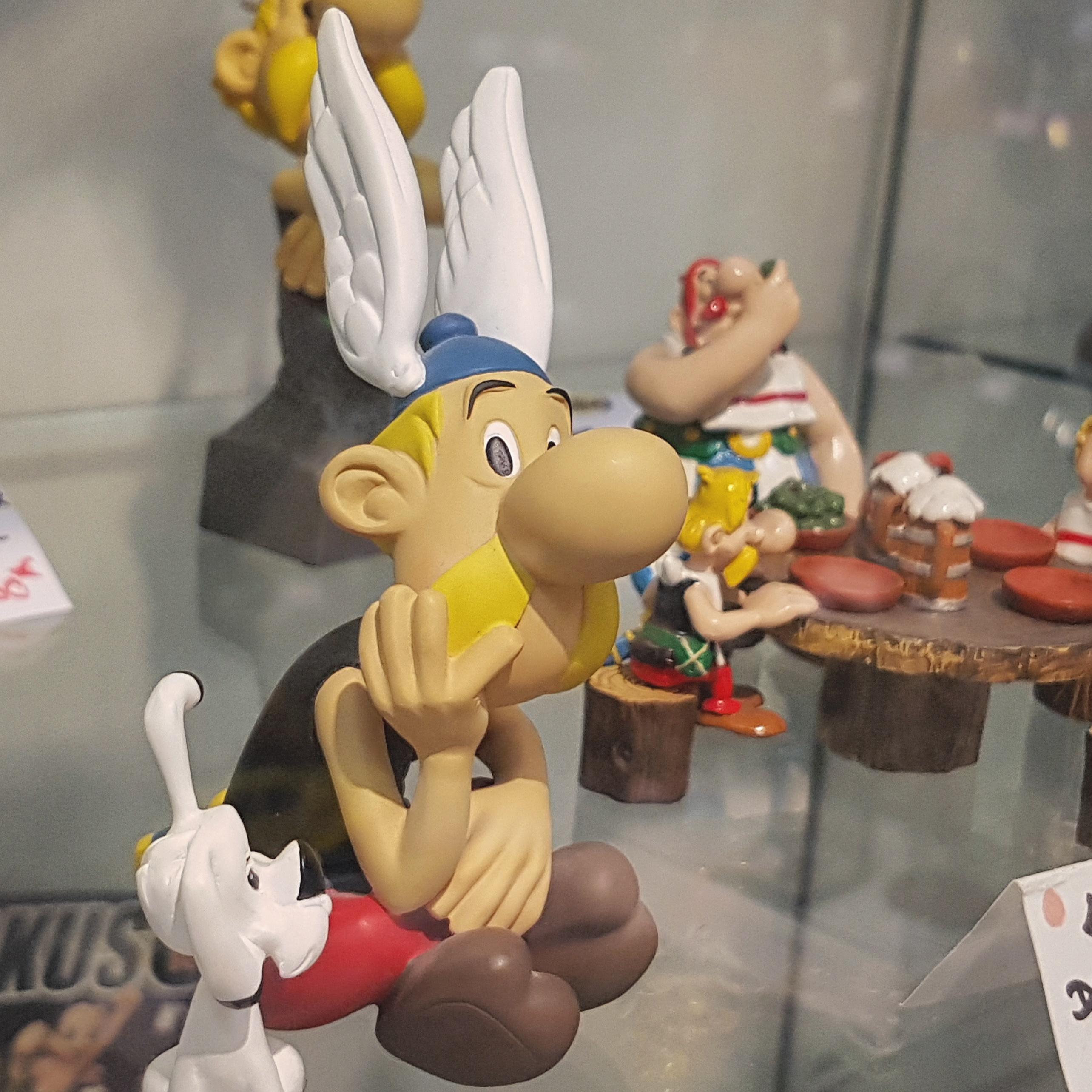 Astérix et Obélix figurines