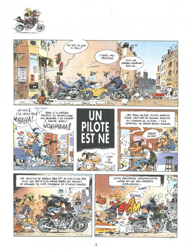 Joe Bar Team Tome 3, p.3 - Fane