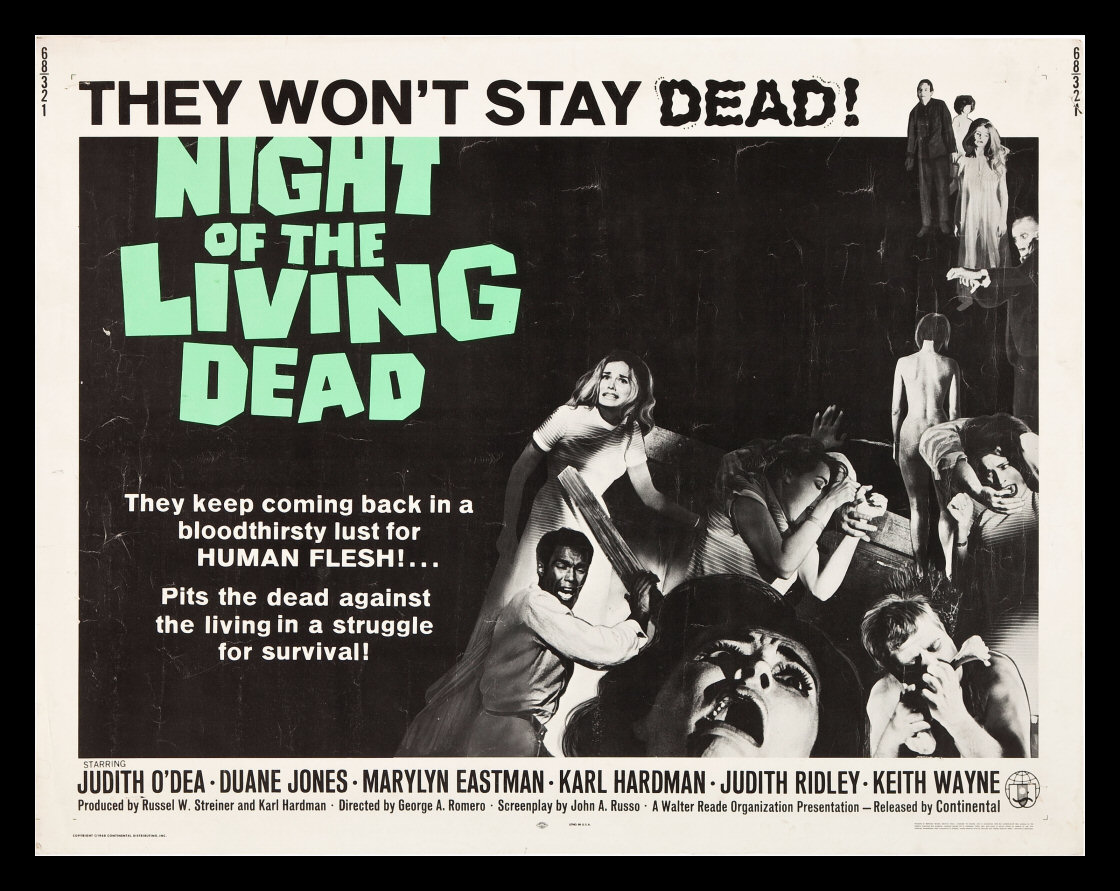 Affiche Night of the Living Dead