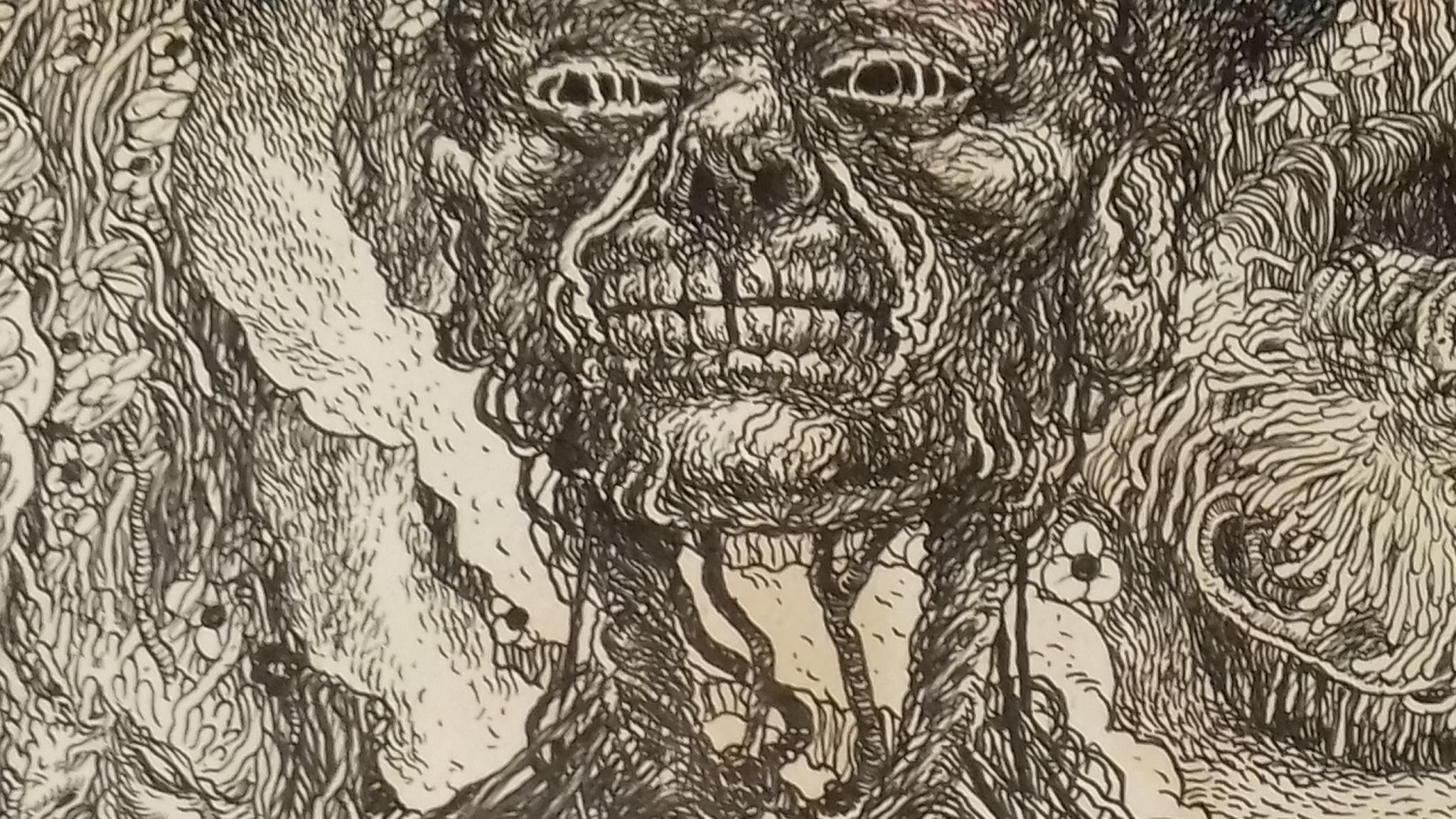 Ian Bertram, sketchbook