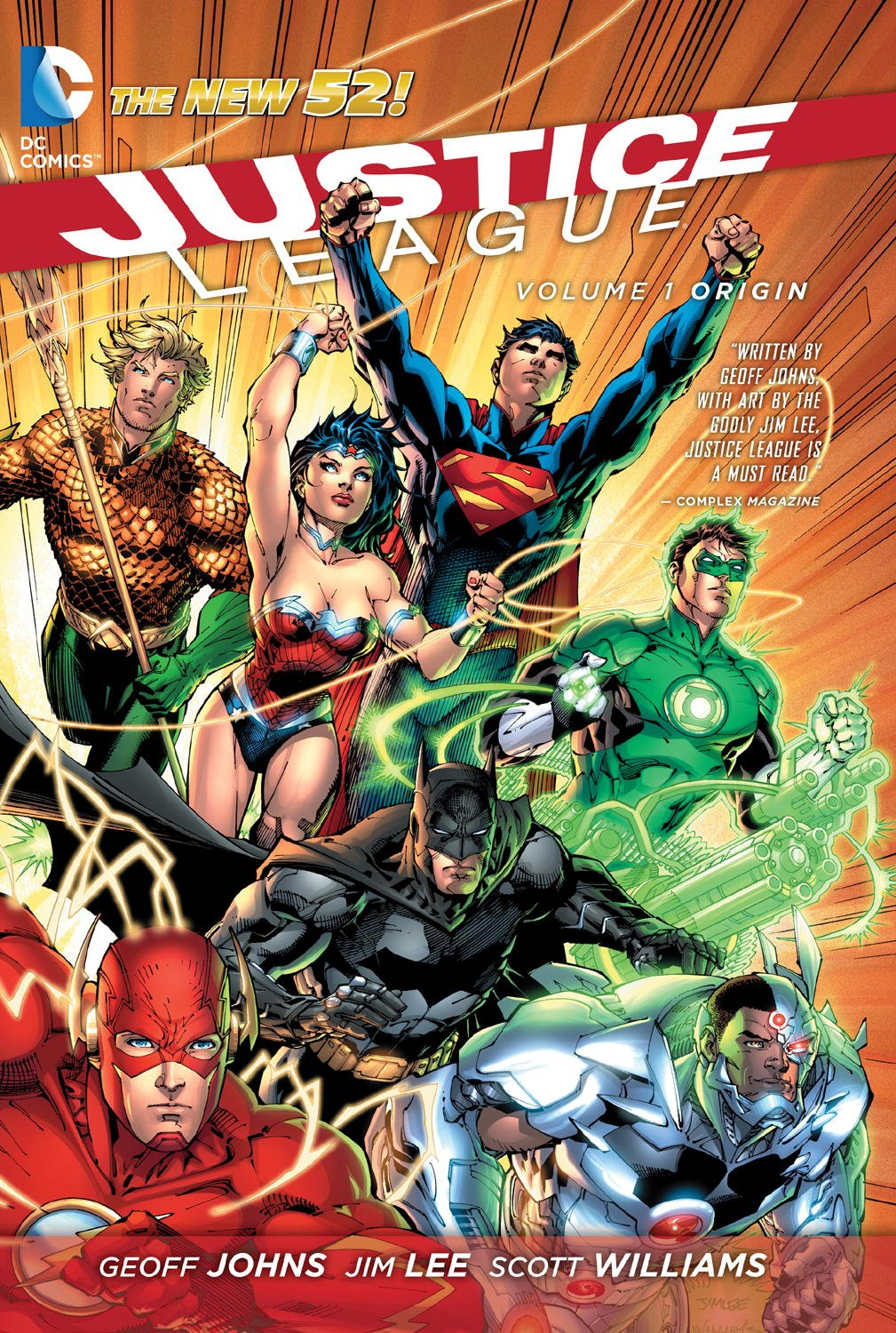 Johns and Lee - Justice League vol 1