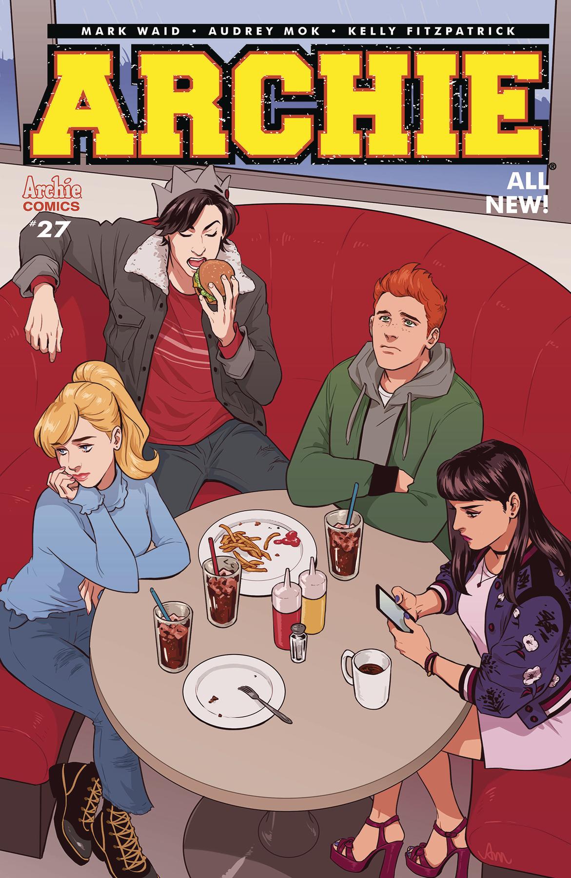 Audrez Mok - Archie #27 cover