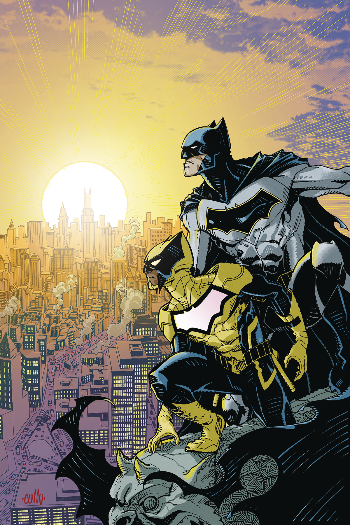 Cully Hamner - Batman and the Signal #1 cover