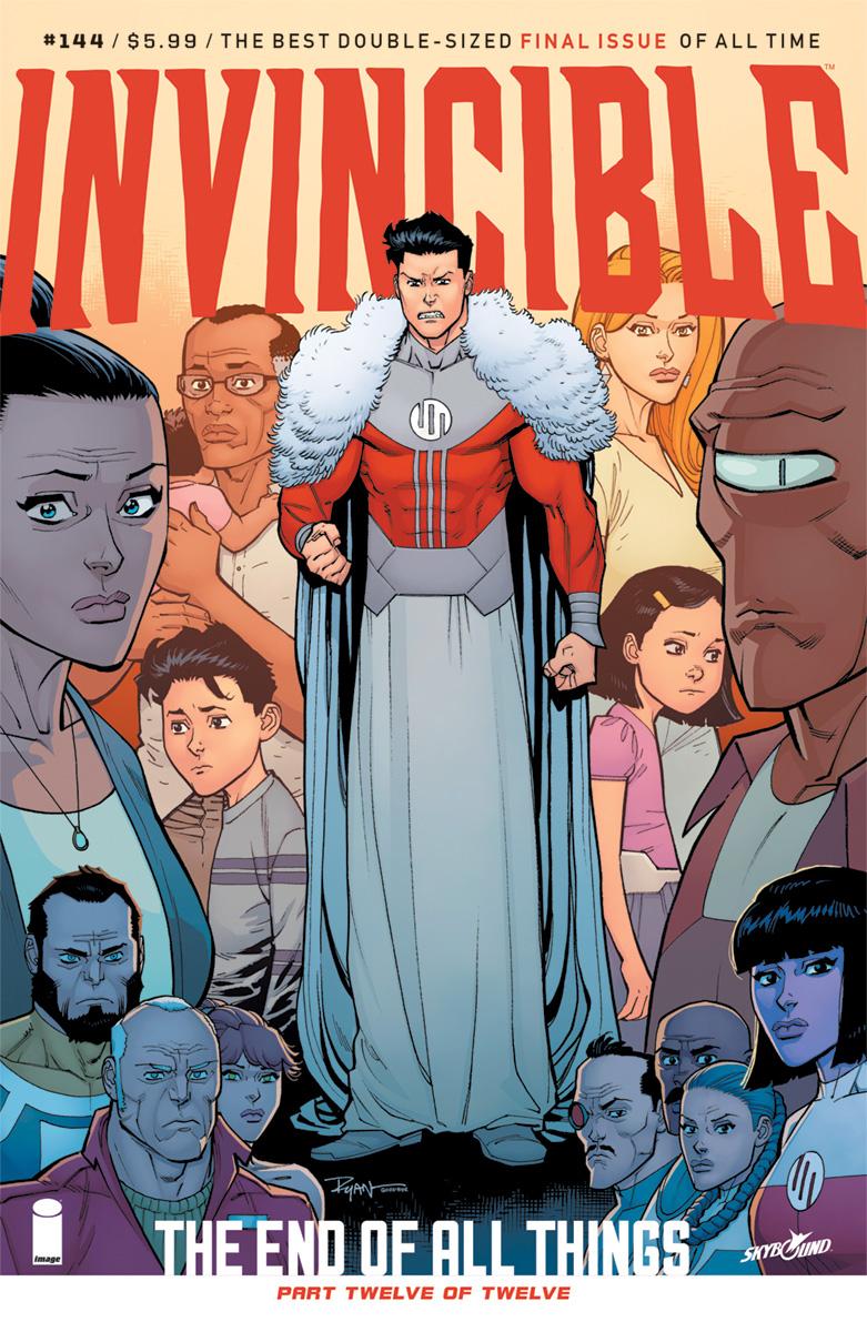 Ryan Ottley - Invincible #144 cover