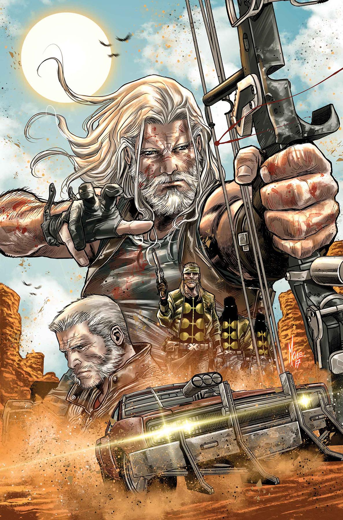 Marco Checchetto - Old man Hawkeye #1 cover