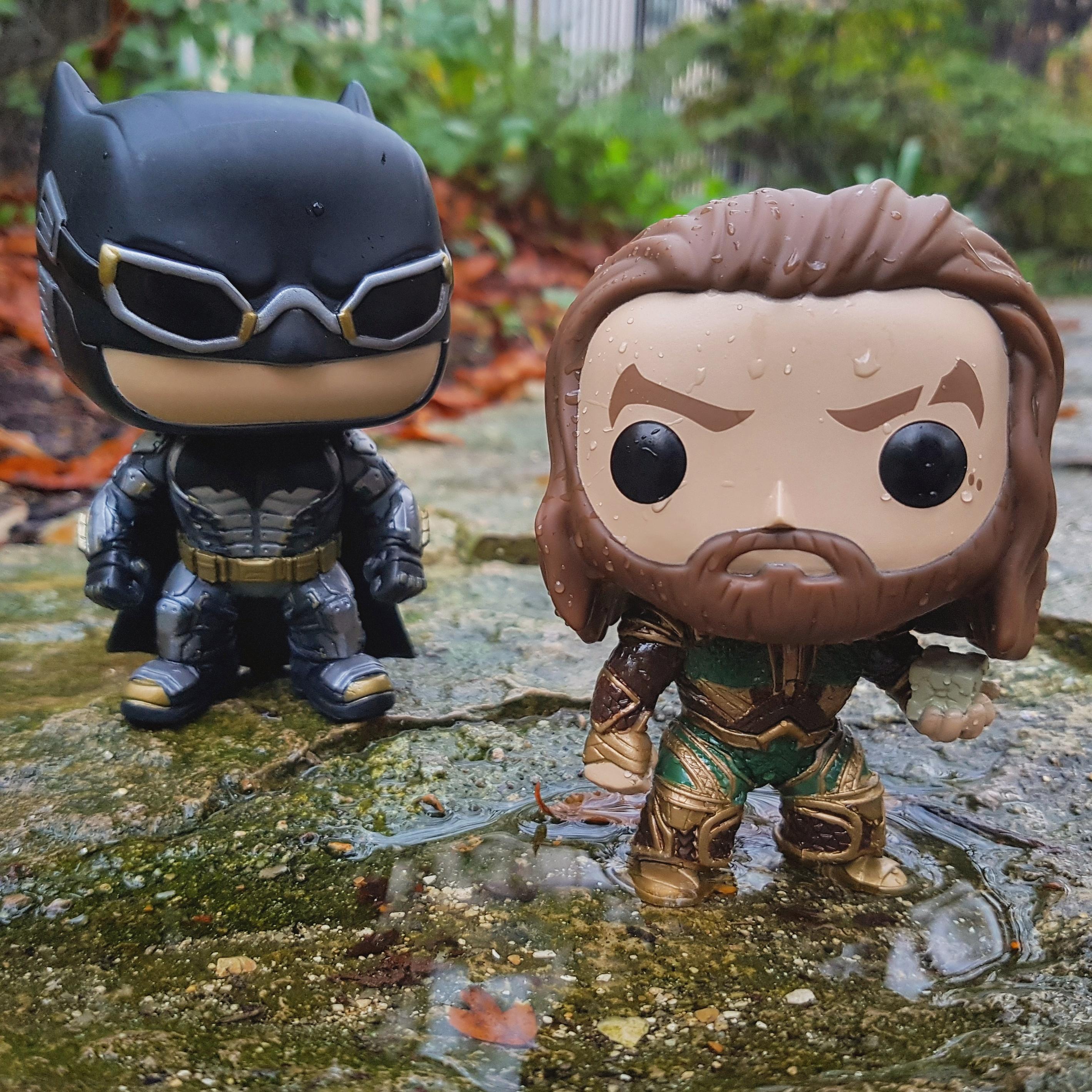 Pop figurines - Batman and Aquaman