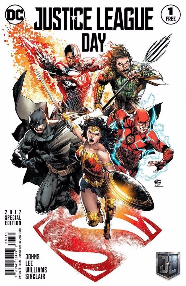 Ivan Reis - Justice League #1 Free