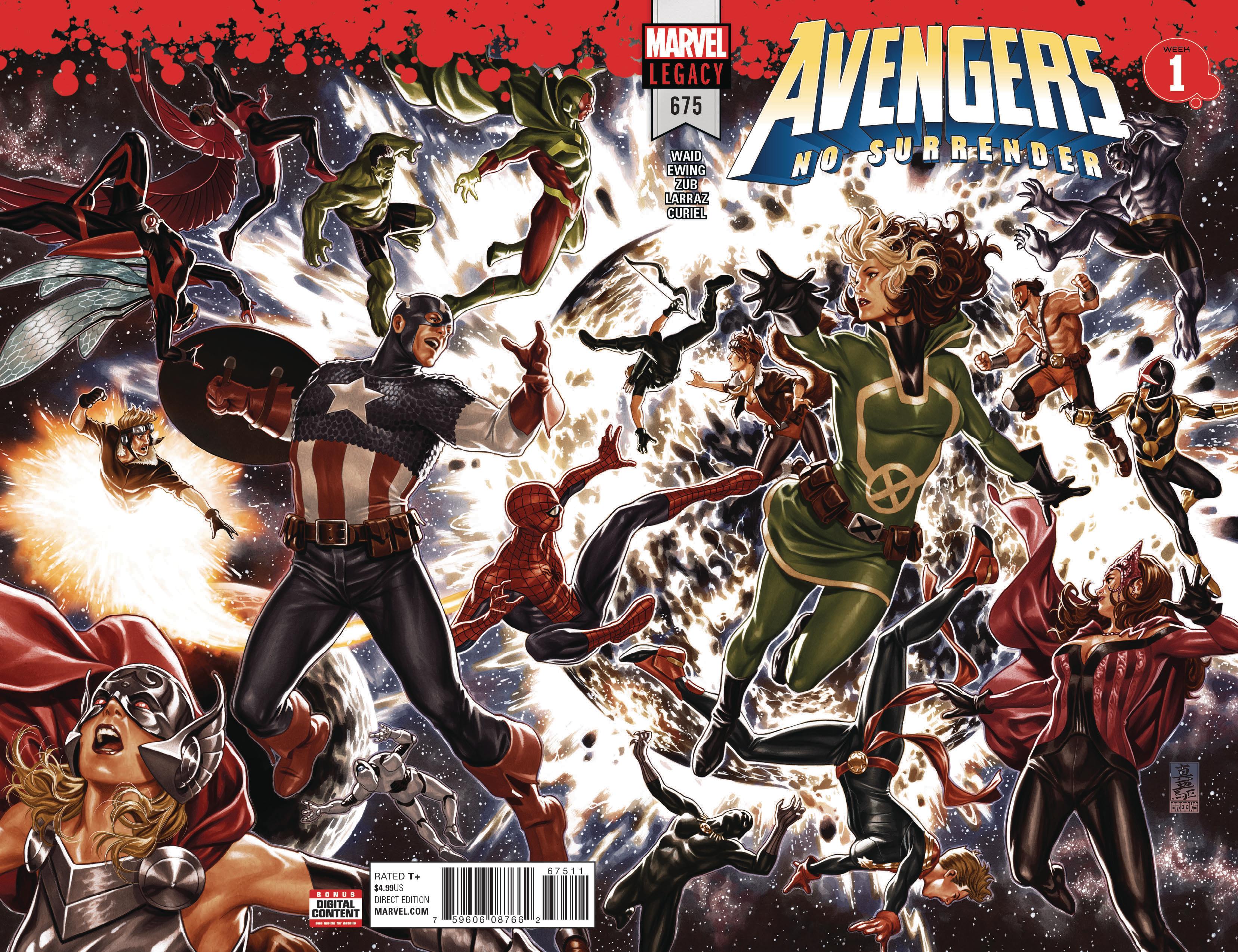 Mark Brooks - Avengers #675 cover