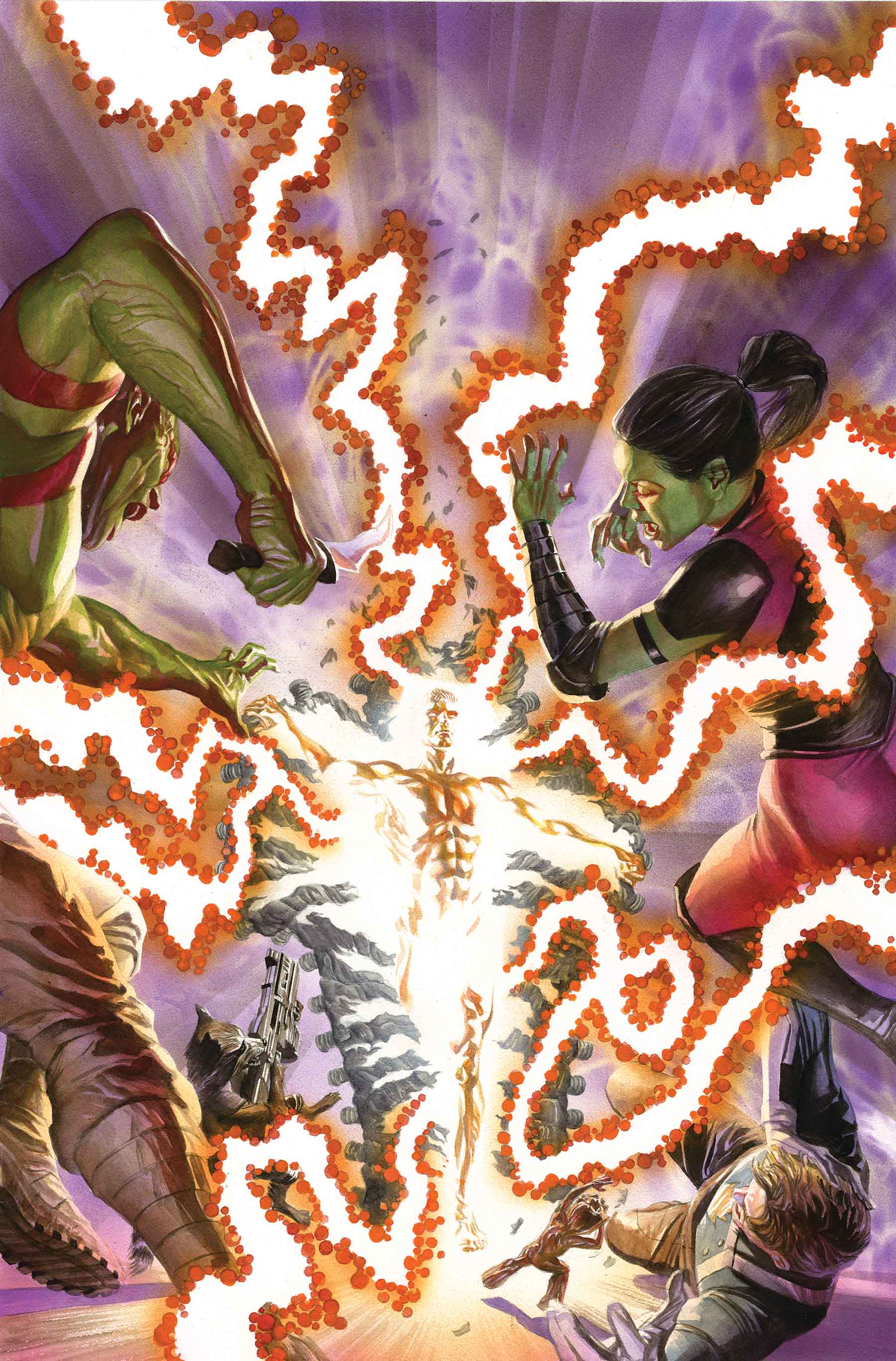 Alex Ross - Guardians of the Galaxy #150 cover
