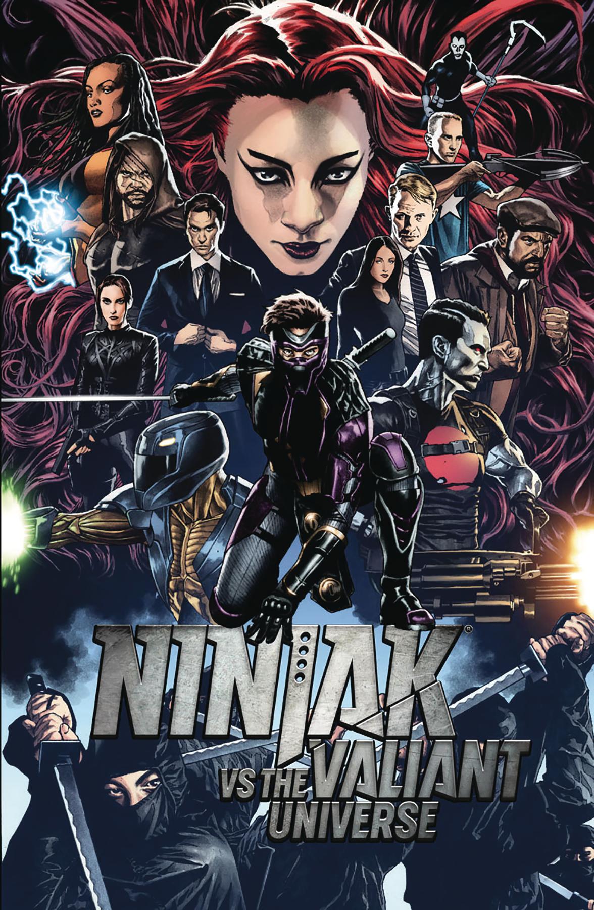 Mico Suayan - Ninjak vs the VU #1 cover