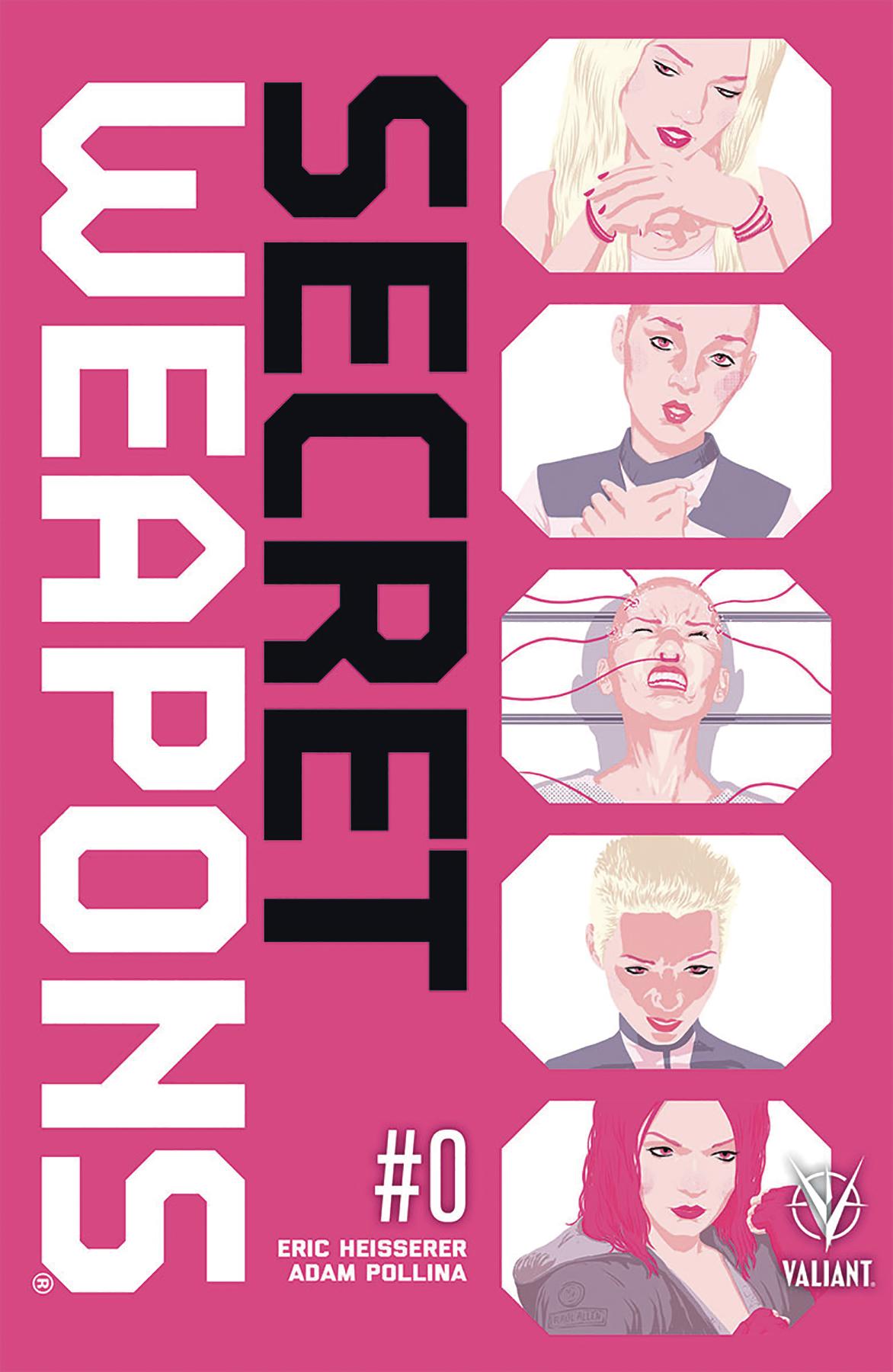Raul Allen - Secret Weapon #1 cover