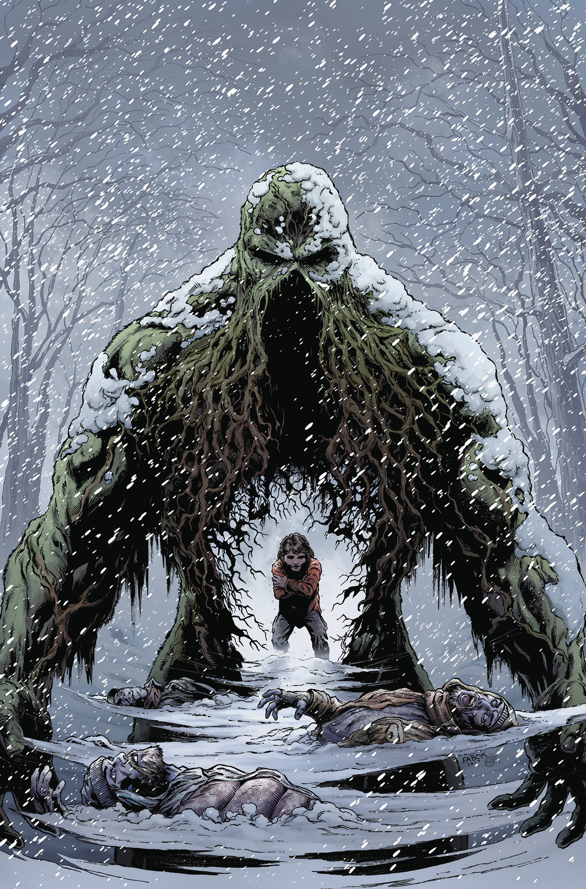 Jason Fabok - Swamp Things Winter special cover
