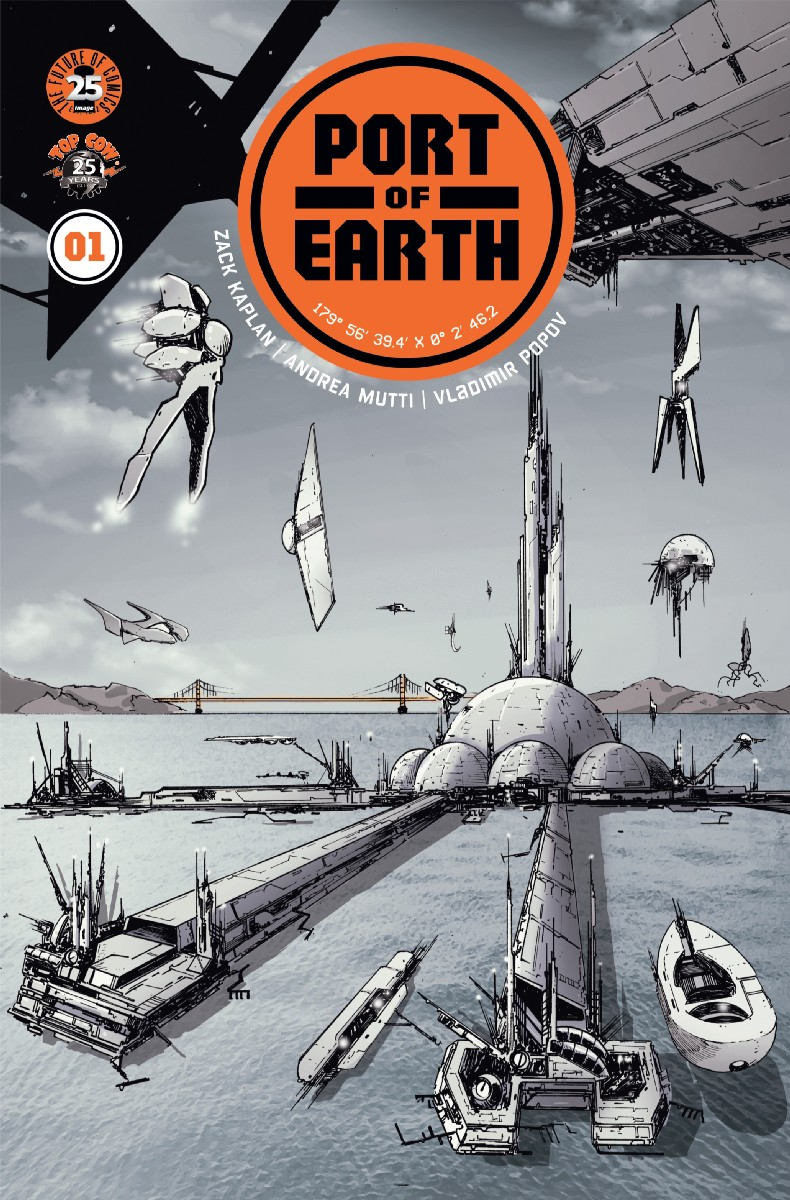 Port of Earth #1, cover
