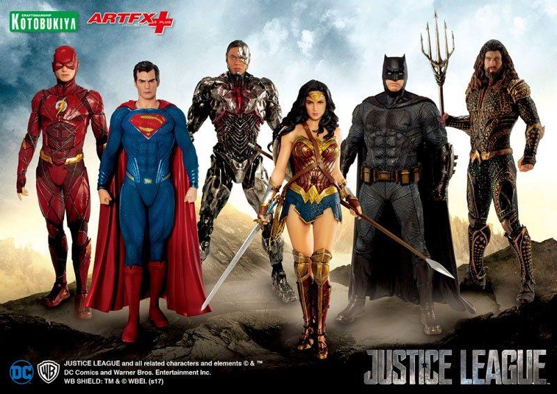 Justice League Kotobykiya