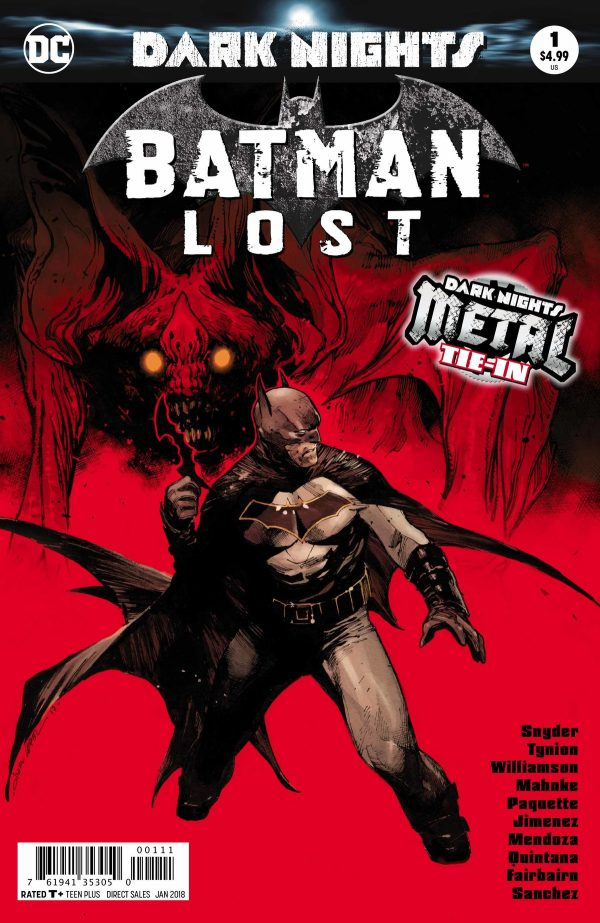 Batman Lost #1, cover