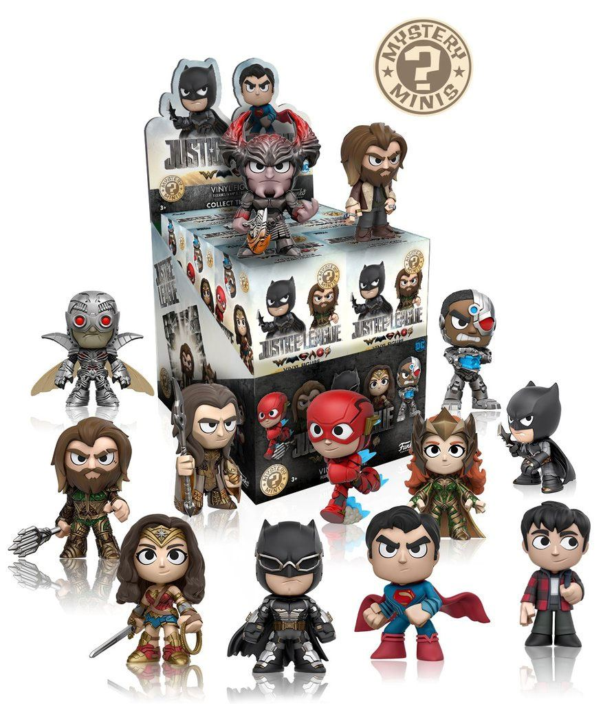 Justice League Mystery Minies