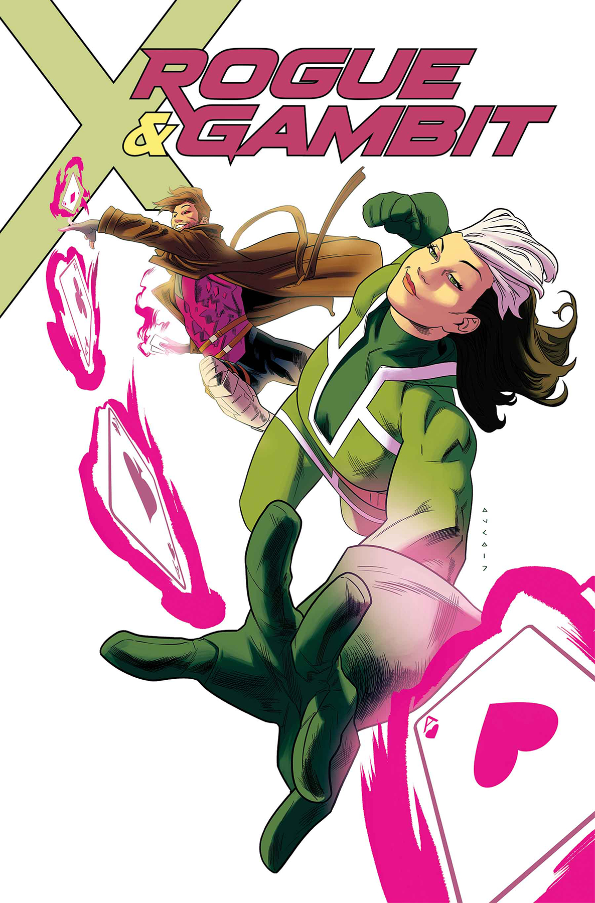 Kris Anka - Rogue & Gambit #1 cover