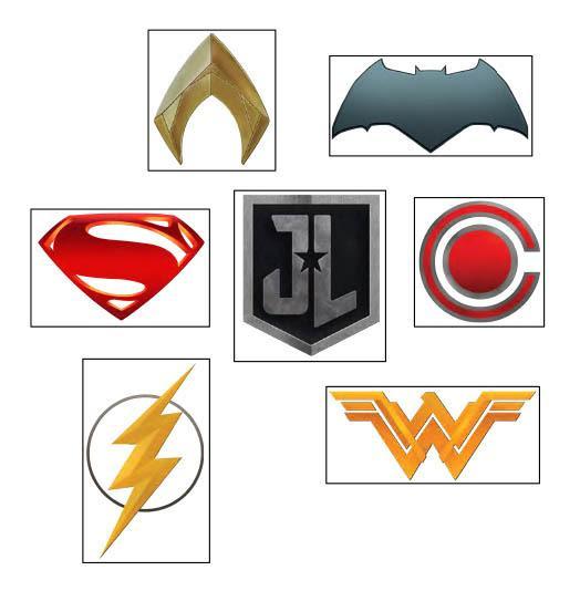 Justice League Day - tatouages temporaires