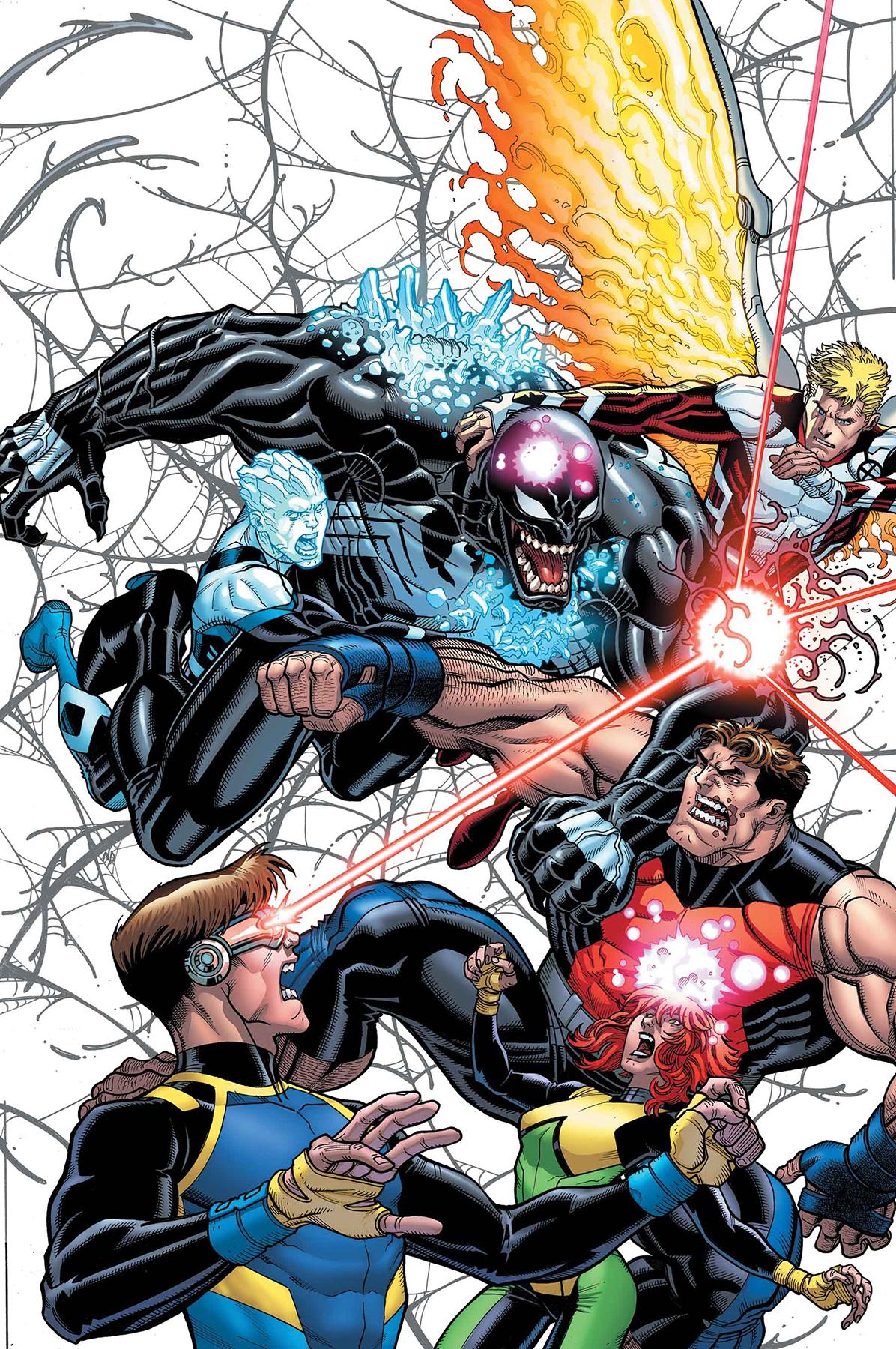 Nick Bradshaw - X-Men Blue annual
