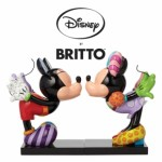 figurines Disney Mickey et Minnie : britto