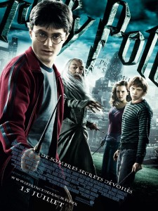 """Couverture du livre """"Harry Potter et le Prince de sang-mêlée"""""""