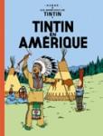 """Couverture de la Bande dessinée """"Tintin en Amerique"""""""