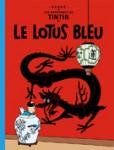 """Couverture de la Bande dessinée """"Le lotus Bleu"""""""