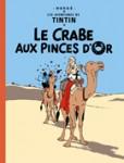 """Couverture de la Bande dessinée """"le crabe aux pinces d'or"""""""